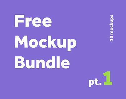 Free mockup bundle 1