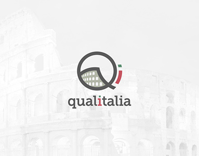 Qualitalia Language School branding