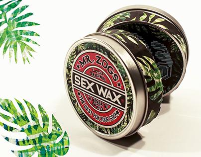 Sex Wax & SPF Packaging