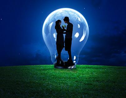 Sweet Couple | Photoshop Manipulation