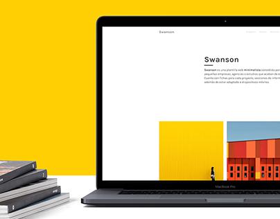Swanson Theme - Website