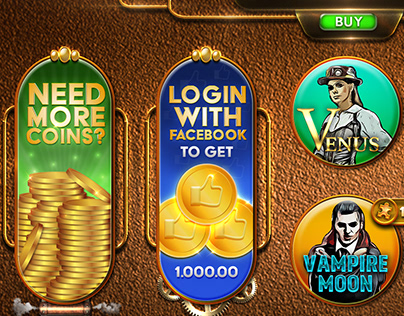 Steampunk Slot Lobby