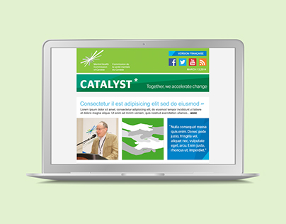 Mental Health Commission–Catalyst Email Newsletter