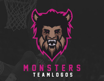 Monsters Teamlogos