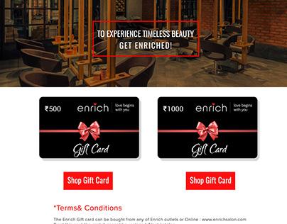 Enrich_Few page designs (website)
