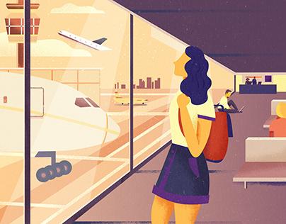 Transport & Travel Illustrations