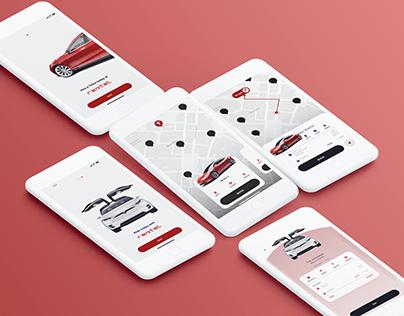 Rentel: A mobile app to rent a car