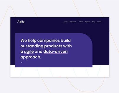 Agily - Visual identity