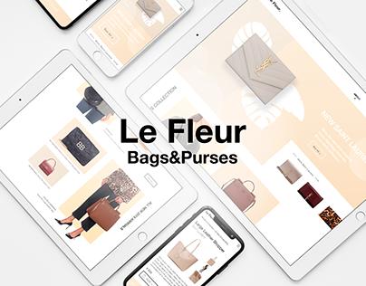 Le Fleur - Web UX/UI Design