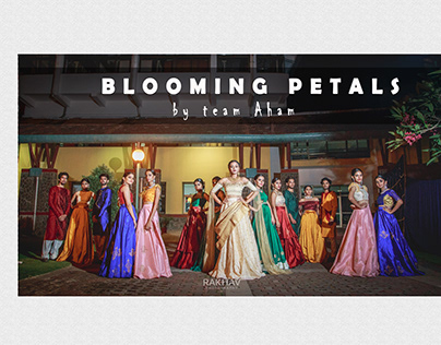 BLOOMING PETALS ,by team Aham