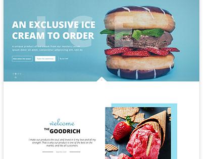 Ice Cream Web site