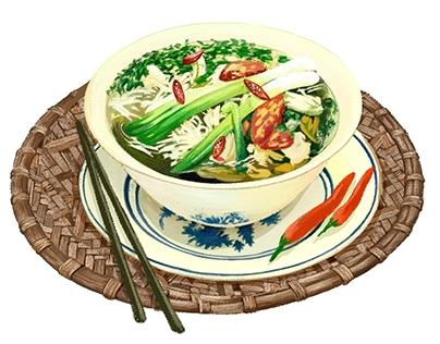 Thú ăn chơi người HN/2017 (Stress food and flower )
