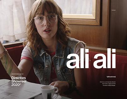 Ali Ali — Director's Portfolio