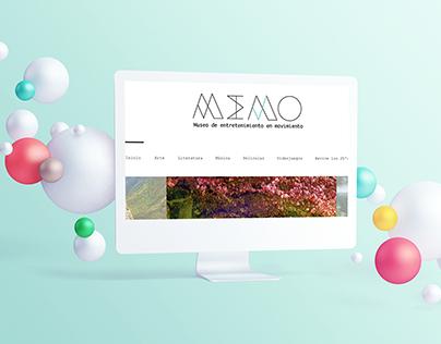 MEMO | Museo de Entretenimiento en Movimiento
