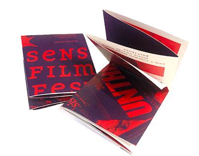 Sense Film Festival | Brand Book + Collateral