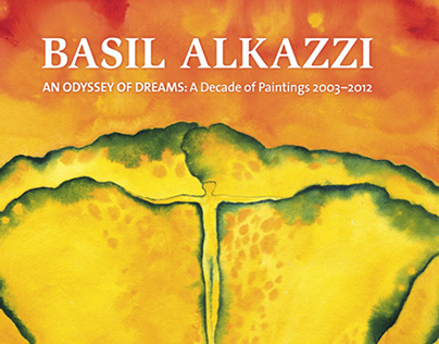 Book and Cover Design, Basil Alkazzi Paintings