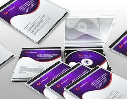 Python CD/DVC Cover & Disk Design