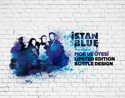 ISTANBLUE Vodka Mor ve Ötesi Limited Edition Bottle