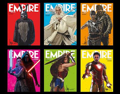 EMPIRE Magazine - 100 Greatest Movies Cover Art