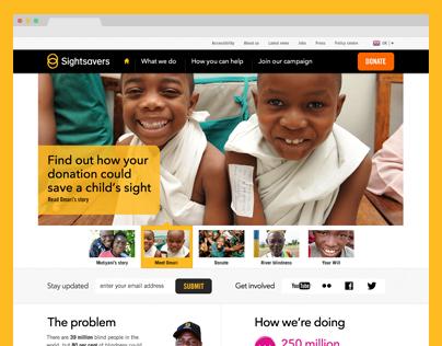 Sightsavers Website