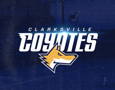 Clarksville Coyotes Rebrand