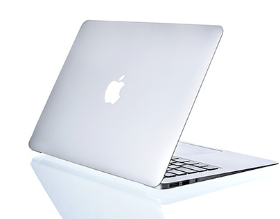 MacBook Air on air
