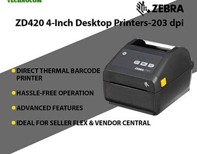 High quality ZD420 4-Inch Desktop Printers - 203dpi
