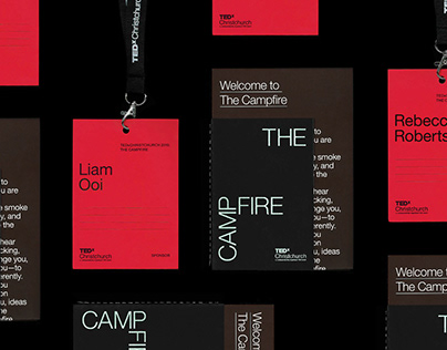 TEDxChristchurch 2018: The Campfire | Brand Campaign