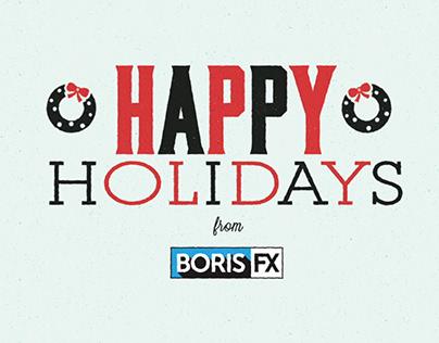 Boris FX Animated Holiday Card