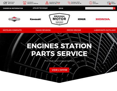 Web e-commerce Original Motor