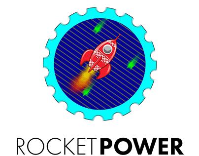 Animated Logo — Rocket Power