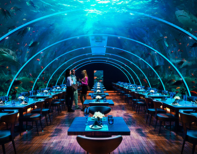 Underwater Conceptual Restaurant Design