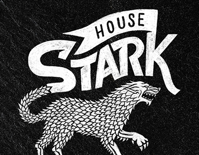 Vintage Game of Thrones Logos