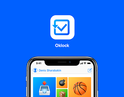 Okclock — todo & time control ios app