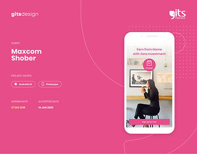 E-Commerce for Reseller, UX/UI Shober