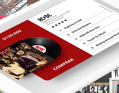 App de low plays music (UX/UI)