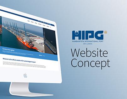 HIPG Website Concept