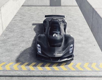 Czinger 21C - Hypercar