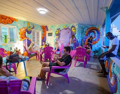 Jedi Surf Hostel - Ребрендинг хостела, арт-директор