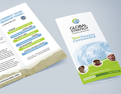 Global Strategy Logo and Re-Branding Campaign