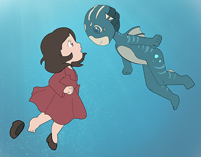 The Shape of Water - Illustration