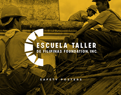 Escuela Taller - Icons & Safety Posters