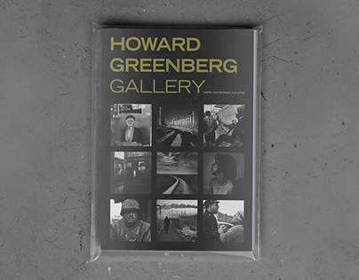 Howard Greenberg Gallery magazine   Design