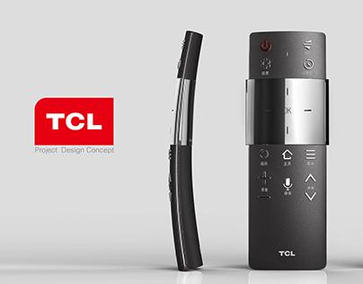 TCL Remote Control Design
