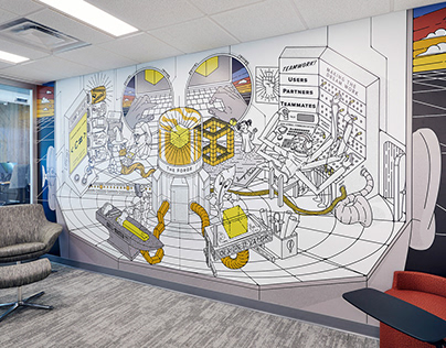 Forge Mural Design
