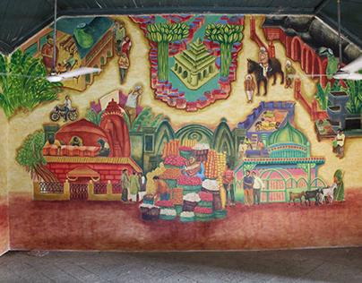 Mural - Auditorium Vadodara, Chhota Udaipur