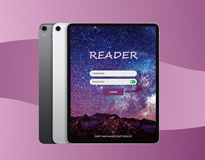 e-Reader App UX Design