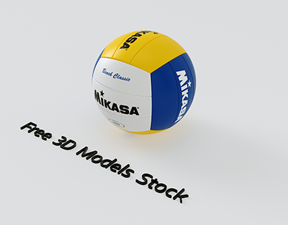 Volleyball Free 3D Model