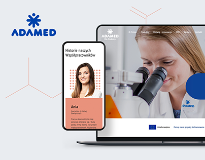 Adamed Pharma - Website