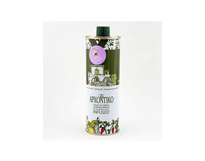 Illustration for Olive oil packaging, Cyprus,2014.